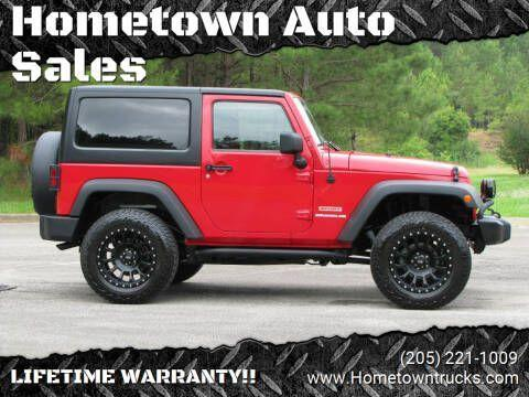 used 2012 Jeep Wrangler car, priced at $21,985