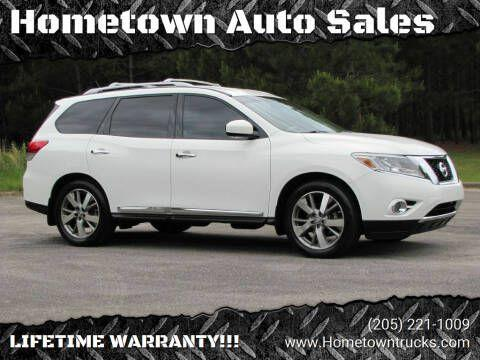 used 2014 Nissan Pathfinder car, priced at $16,985