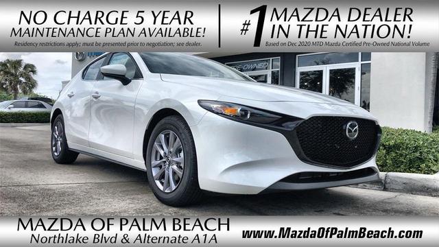 new 2021 Mazda Mazda3 car, priced at $21,805