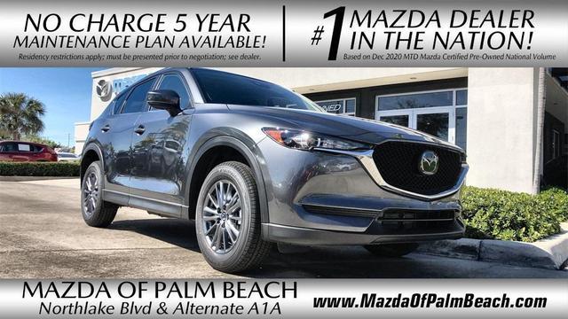 new 2021 Mazda CX-5 car, priced at $28,094