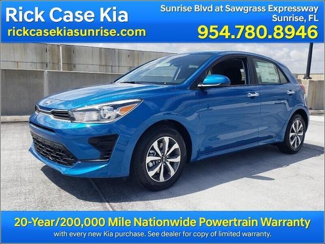 new 2021 Kia Rio car, priced at $19,285