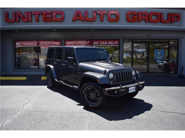 used 2017 Jeep Wrangler Unlimited car, priced at $30,995