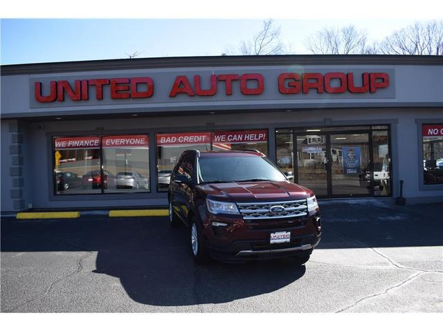 used 2018 Ford Explorer car, priced at $31,995