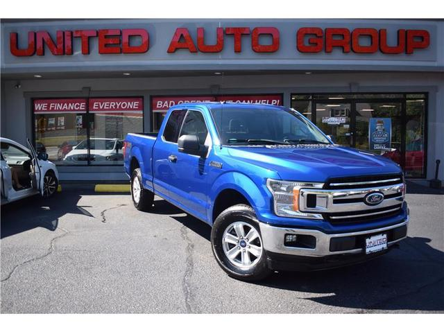 used 2018 Ford F-150 car, priced at $34,795
