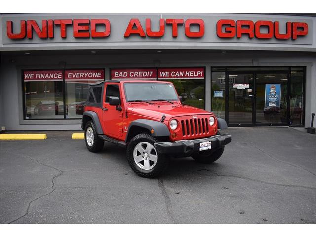used 2009 Jeep Wrangler car, priced at $14,995