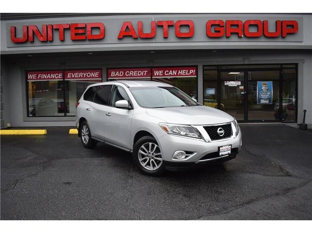 used 2014 Nissan Pathfinder car, priced at $12,495