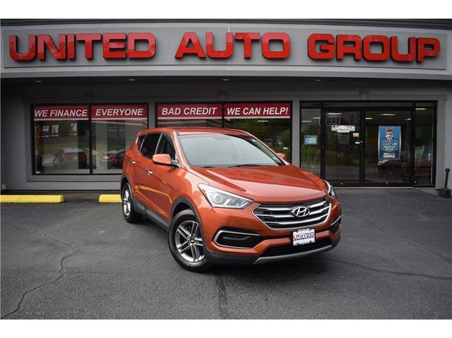 used 2017 Hyundai Santa Fe Sport car, priced at $17,928