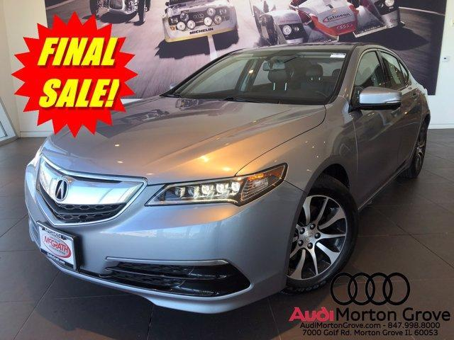 used 2015 Acura TLX car, priced at $16,357