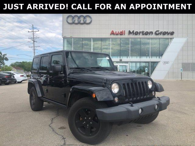 used 2015 Jeep Wrangler Unlimited car, priced at $29,799