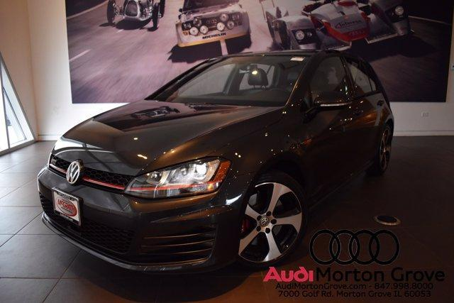 used 2017 Volkswagen Golf GTI car, priced at $25,599