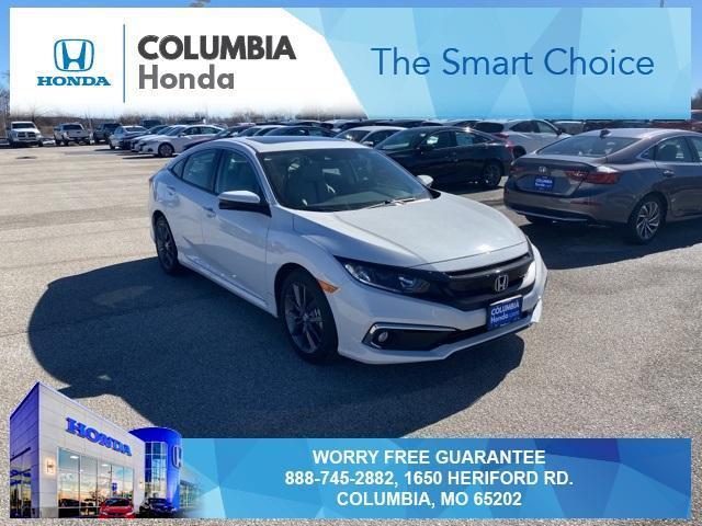 new 2021 Honda Civic car, priced at $25,008