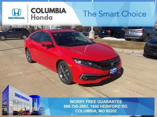 new 2021 Honda Civic car, priced at $24,634