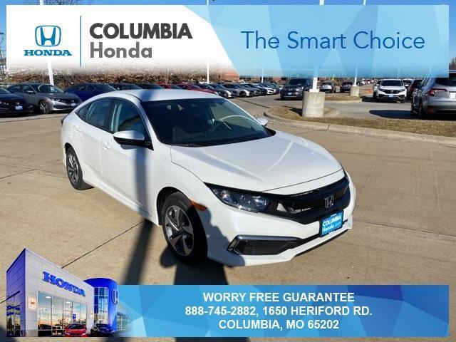 new 2021 Honda Civic car, priced at $22,137