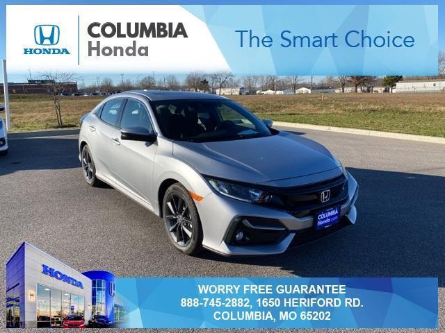 new 2021 Honda Civic car, priced at $24,918