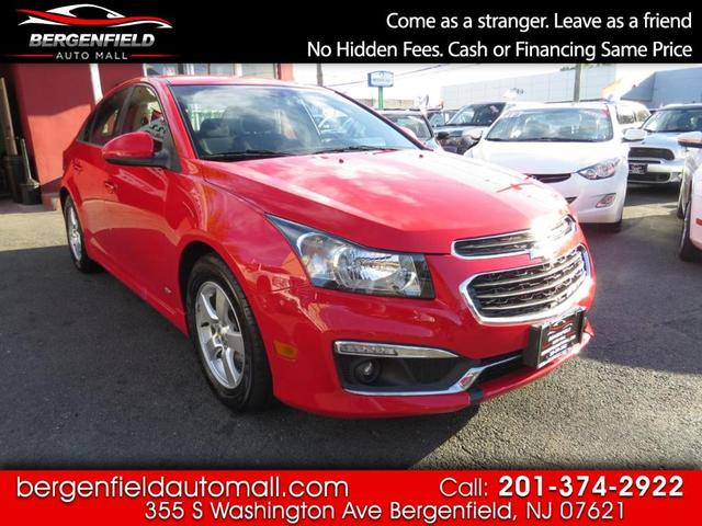 used 2015 Chevrolet Cruze car, priced at $12,995