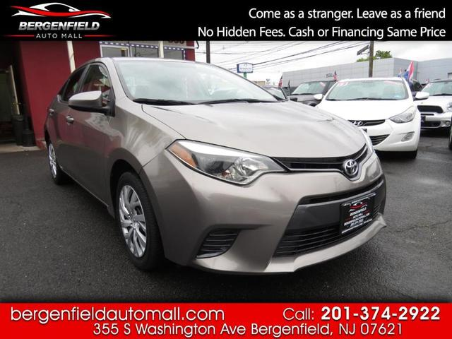used 2016 Toyota Corolla car, priced at $13,495