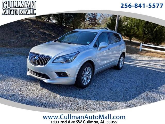 used 2017 Buick Envision car, priced at $23,000