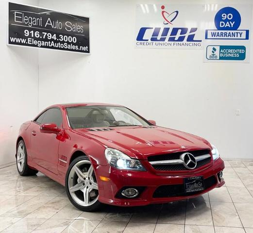 used 2009 Mercedes-Benz SL-Class car, priced at $24,999