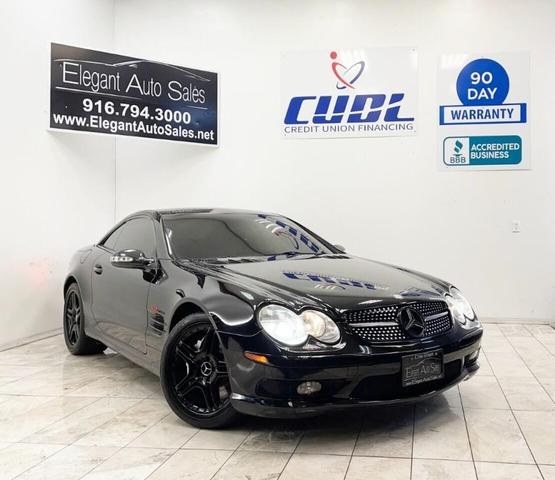 used 2003 Mercedes-Benz SL-Class car, priced at $23,999