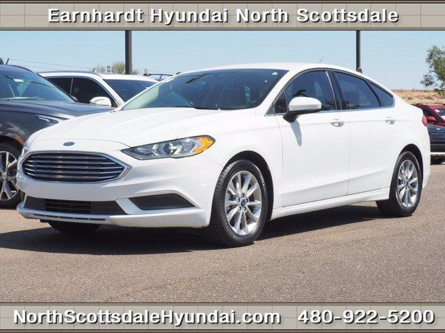 used 2017 Ford Fusion car, priced at $15,471