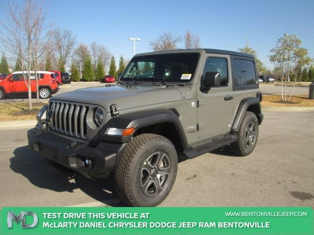 new 2021 Jeep Wrangler car, priced at $44,440