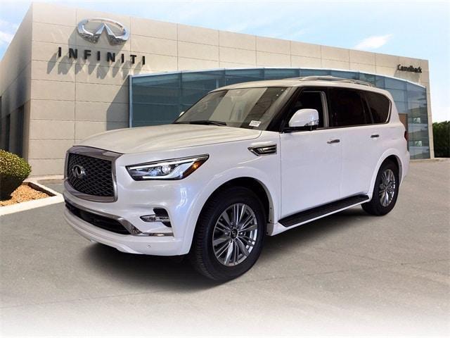 new 2021 INFINITI QX80 car, priced at $68,311