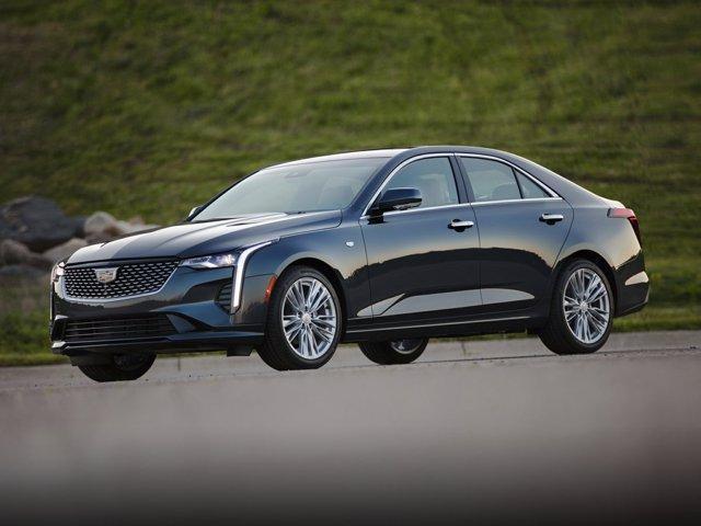 new 2021 Cadillac CT4 car