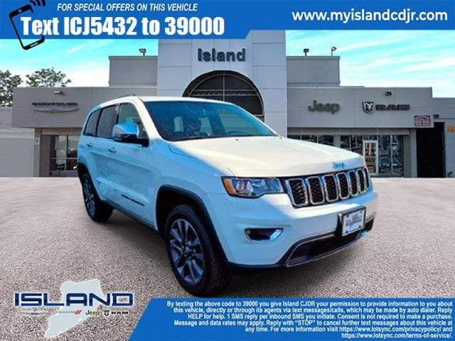used 2018 Jeep Grand Cherokee car, priced at $31,000