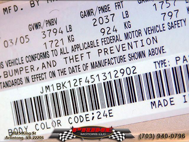 used 2005 Mazda Mazda3 car, priced at $2,995
