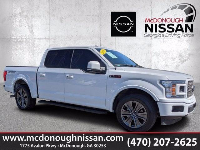 used 2018 Ford F-150 car, priced at $36,989