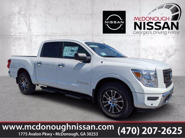 new 2021 Nissan Titan car, priced at $49,330