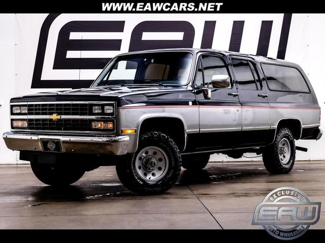 used 1990 Chevrolet Suburban car, priced at $23,997
