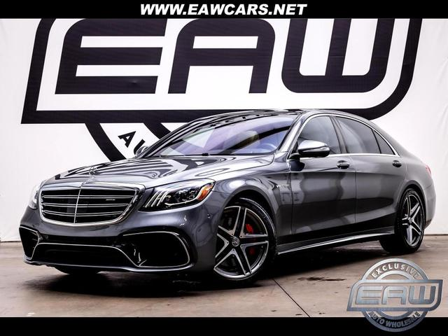 used 2019 Mercedes-Benz AMG S 63 car, priced at $112,997