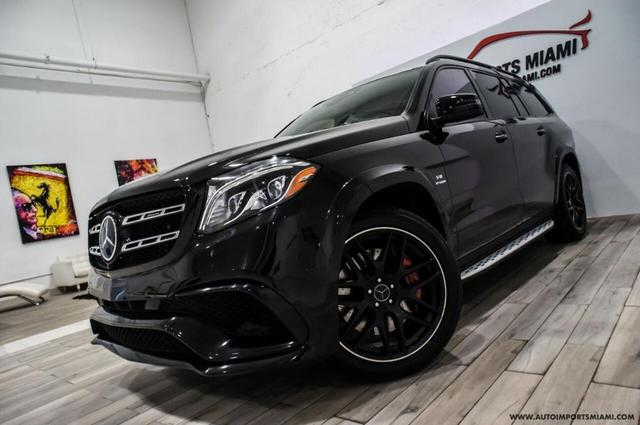 used 2017 Mercedes-Benz AMG GLS 63 car, priced at $64,888