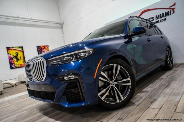 used 2021 BMW X7 car, priced at $80,888