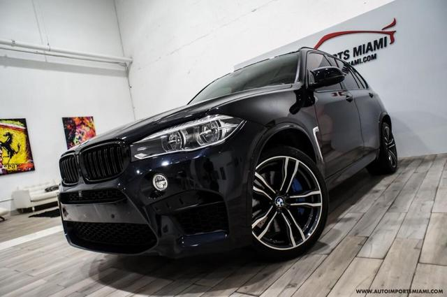 used 2017 BMW X5 M car, priced at $58,888