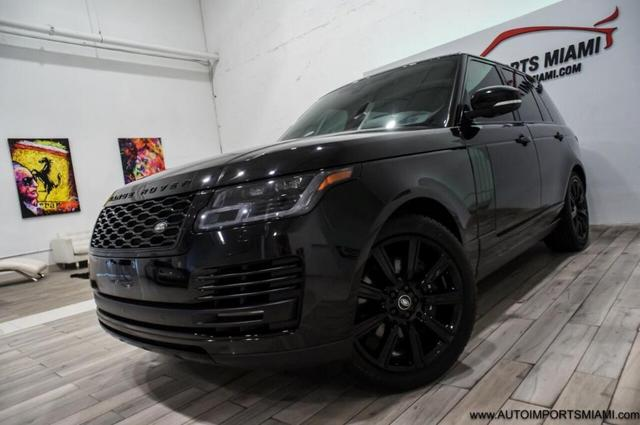 used 2018 Land Rover Range Rover car, priced at $78,888