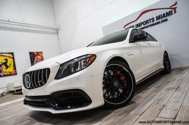 used 2021 Mercedes-Benz AMG C 63 car, priced at $92,888
