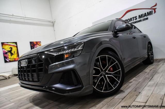 used 2021 Audi SQ8 car, priced at $99,888
