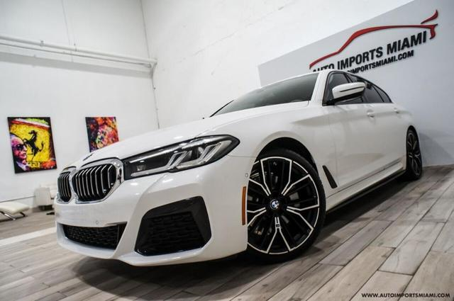 used 2021 BMW 530 car, priced at $57,888