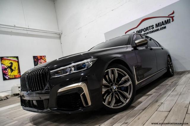 used 2020 BMW M760 car, priced at $117,888