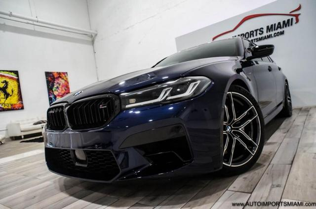 used 2021 BMW M5 car, priced at $108,888