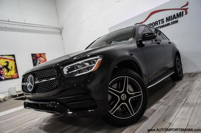 used 2020 Mercedes-Benz GLC 300 car, priced at $49,888