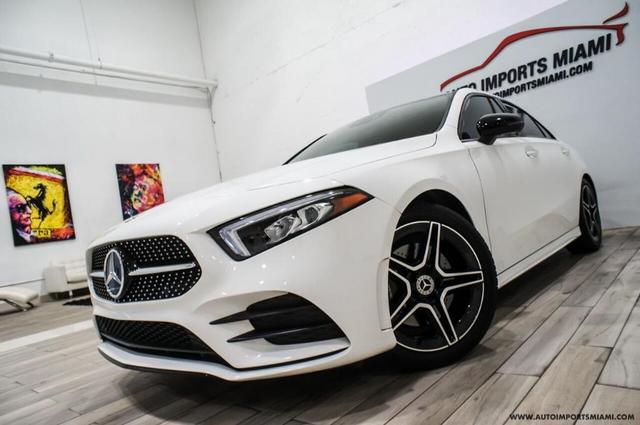 used 2019 Mercedes-Benz A-Class car, priced at $38,888