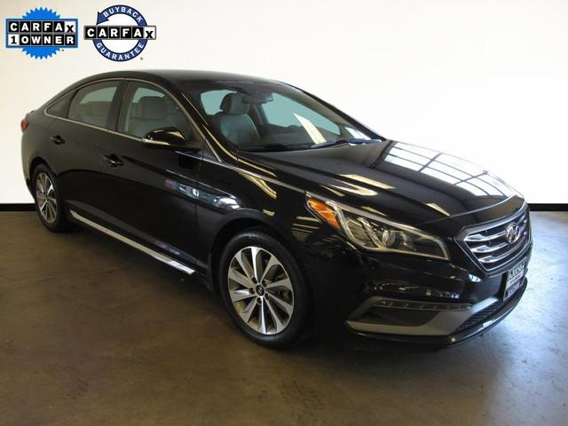 used 2015 Hyundai Sonata car, priced at $13,719