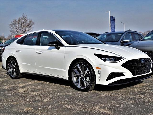new 2021 Hyundai Sonata car, priced at $29,435