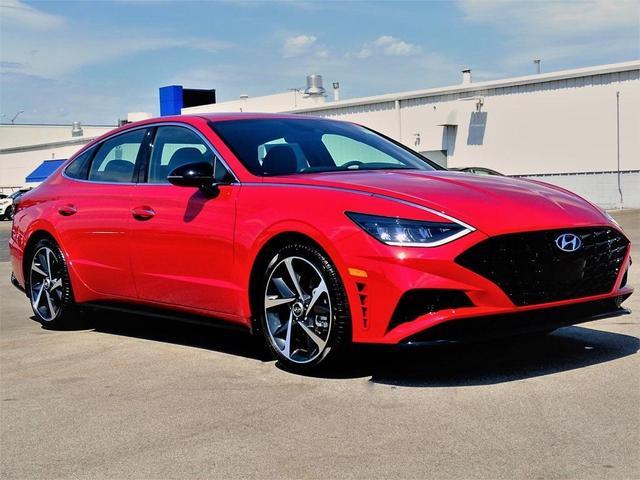new 2021 Hyundai Sonata car, priced at $27,949