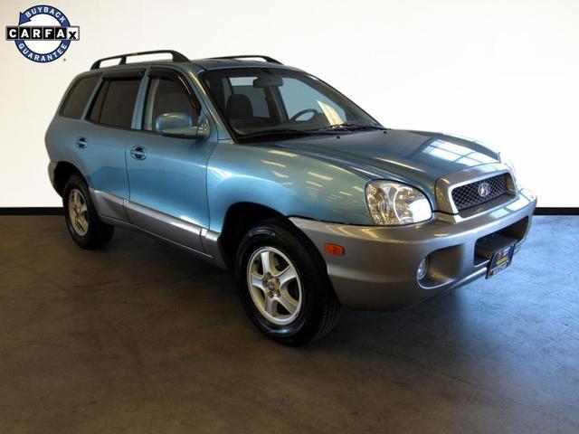 used 2004 Hyundai Santa Fe car, priced at $9,499