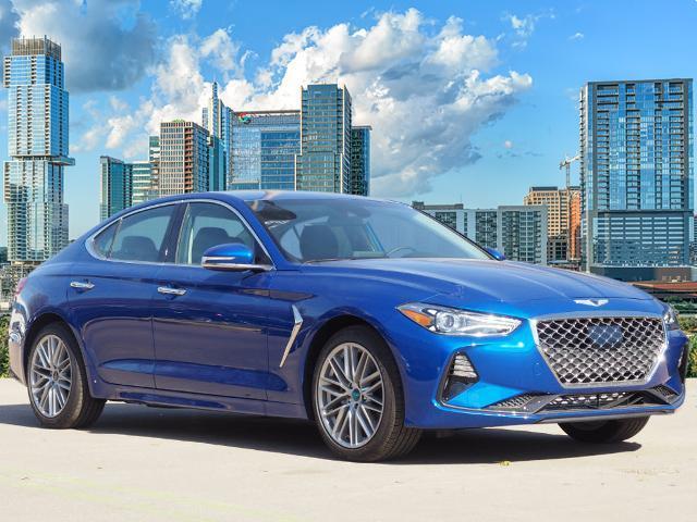 new 2021 Genesis G70 car, priced at $33,790