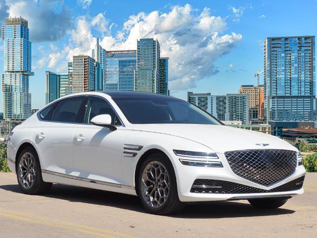 new 2021 Genesis G80 car, priced at $58,025